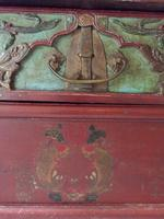 Chinese Altar Table, Painted with Fish & Fauna (3 of 12)