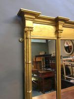 C19th Gilt Overmantel Mirror (4 of 14)