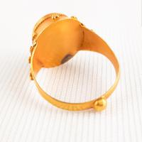 Antique Roman Style Grand Tour Gold Intaglio Ring (4 of 5)