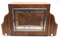 Fine Smiths Art Deco Mantel Clock Triple Chime 8 Day Westminster Chime Mantle Clock (8 of 10)