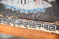 Pair of Small Black Chinese Painted Cabinet (8 of 12)