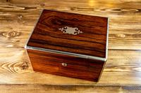 William IV Rosewood Vanity Box (10 of 13)