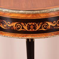 Fine Quality French Marquetry & Ormolu Mounted Occasional Table (7 of 24)