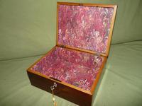 Georgian Inlaid Rosewood Jewellery / Table Box c.1825 (11 of 12)
