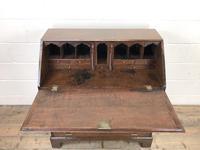 Early 19th Century Oak Fall Front Bureau (4 of 10)