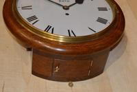 Henry Davis Bath Fusee Dial Wall clock (4 of 4)