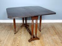 19th Century Mahogany Drop-Leaf Table (4 of 6)