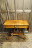 Regency Rosewood Sofa Table (2 of 9)