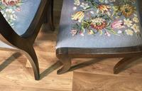 Set of Four Regency Style Dining Chairs by Gill & Reigate (7 of 12)