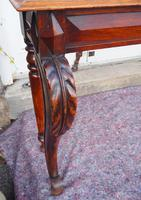 Narrow Scottish Oak Console Hall Table (6 of 7)