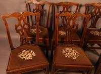 Set of 6 Country Chippendale Dining Chairs (3 of 11)