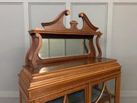 Inlaid Mahogany Edwardian Display Cabinet (8 of 12)
