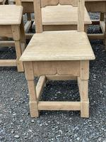 Set 8 Oak Farmhouse Dining Chairs (4 of 14)