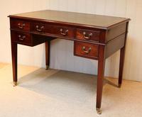Large Mahogany Writing Desk (6 of 11)