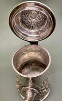 Superb Mid 18th Century Solid Silver Coffee Pot by Robert Arbin Cox (2 of 5)