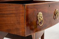 Regency Style Mahogany Bow Sideboard (3 of 8)