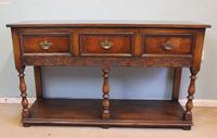 Quality Oak Sideboard Dresser Base (4 of 11)