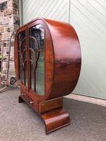 Art Deco Walnut Display Cabinet (11 of 13)