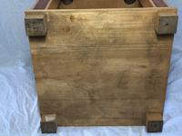 Art Deco Style 20th Century French Blonde Wood Side Table (5 of 13)