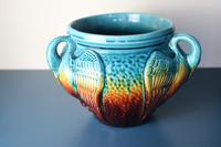 Aesthetic Movement / Arts & Crafts Ault art-pottery tri-Handled Jardinière c.1895 (23 of 27)
