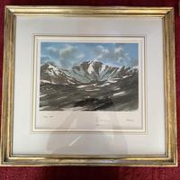 "HRH Prince Charles signed Limited Edition Artists Proof Print titled ""Lochnagar"" with fitted case and certificate of Authenticity (14 of 14)"