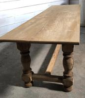 French large oak farmhouse dining table (31 of 38)