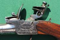 Late 18th Century Flintlock Pocket Pistol by Osborn, London (4 of 6)