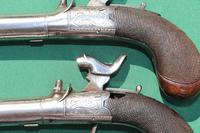 Fine Pair of 19th Century Box Lock Percussion Pocket Pistols by Boaler (4 of 13)