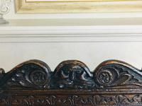 Rare English Charles II Oak Wainscot Armchair Likely to be from Battle Abbey c.1660-1685 (4 of 20)