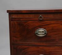 Early 19th Century Mahogany Bowfront Chest with Slide (12 of 12)