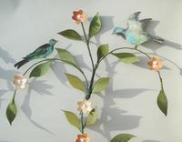 Pretty Pair of Vintage Metal Wall Sconce (4 of 6)
