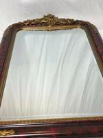 Large French Empire Boulle Style Gilt Cherub Pier Bevelled Mirror (9 of 13)