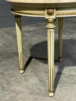 French Round Marble Top Coffee Table (9 of 15)