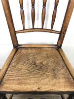 Set of Four 19th Century Elm Country Chairs (9 of 13)