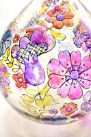 1960s Hand Painted Demi John Lamp with Floral Pattern (13 of 22)