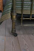 Handsome Victorian All Naturally Aged Brass King Size Bed (9 of 10)