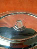 Antique Sheffield Silver Plate Lee & Wigfull  Serving Tureen Dish & Lid C1870s (9 of 11)