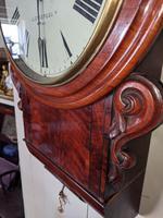 19th Century Mahogany Fusee Wall Clock (4 of 4)