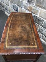 Antique Mahogany Writing Table (4 of 11)