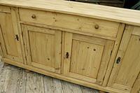 2m Pine Dresser Base Sideboard / Cupboard / TV Stand (2 of 13)