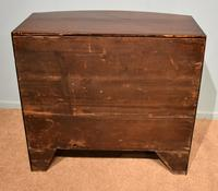 Regency Period Bow Fronted Chest of Drawers (7 of 8)