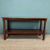Spectacular Victorian Mahogany Antique Console Table (3 of 8)