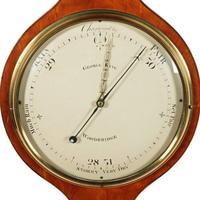 """Georgian Satinwood 10"""" Dial Barometer (8 of 8)"""