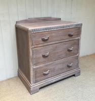 Limed Oak Chest of Drawers (5 of 9)