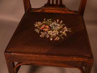 Set of 6 Country Chippendale Dining Chairs (11 of 11)