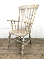 Victorian Ash and Elm Country Armchair (2 of 10)