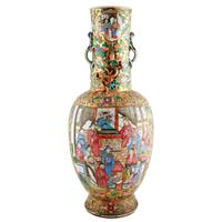 19th Century Chinese Canton Vase (3 of 8)