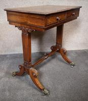 Early 19th Century Free Standing Rosewood Table (3 of 11)