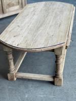 Bleached Oak Drop Flap Coffee Table (6 of 17)