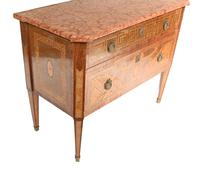 Swedish Chest of Drawers Antique Neo Classical Commode (9 of 11)